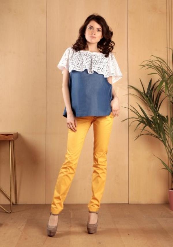 Блуза джинс