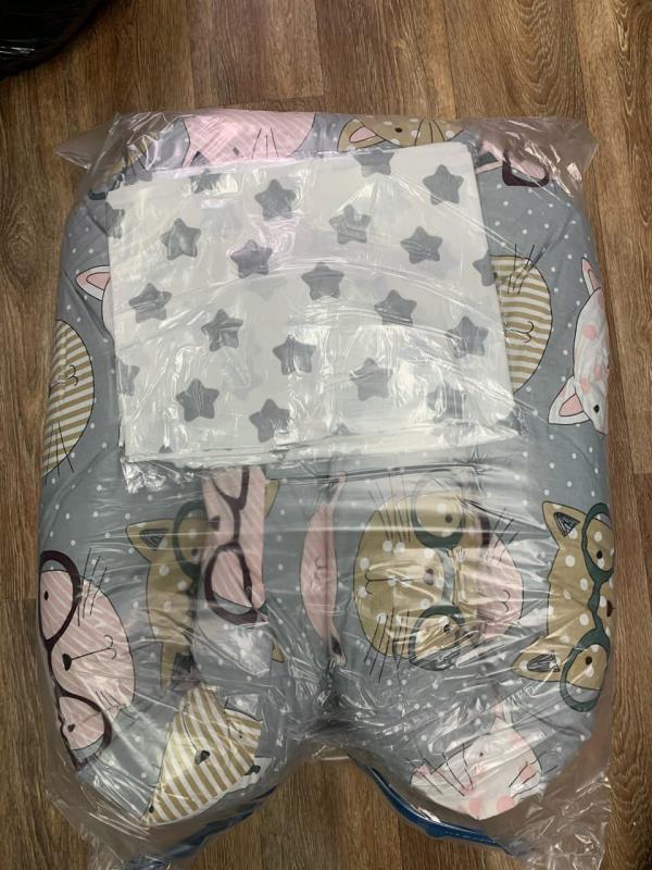 Подушка  для беременных 320 см, принт в ассортименте)